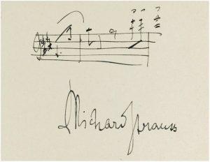 Strauss Signatur